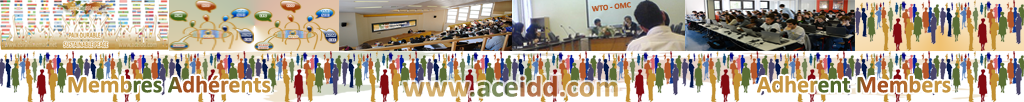 ACEIDD, Practices of the International, Adherent Membres