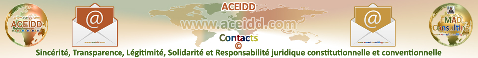 ACEIDD et EMAD Consulting - Contacts